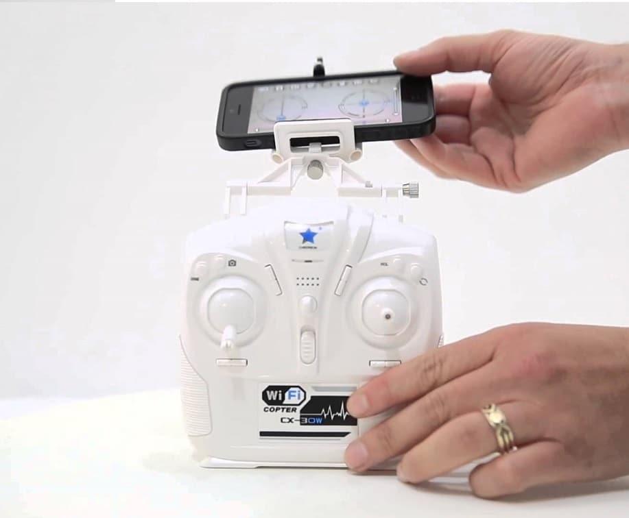 Drones.bg Дрон Cheerson CX-30W