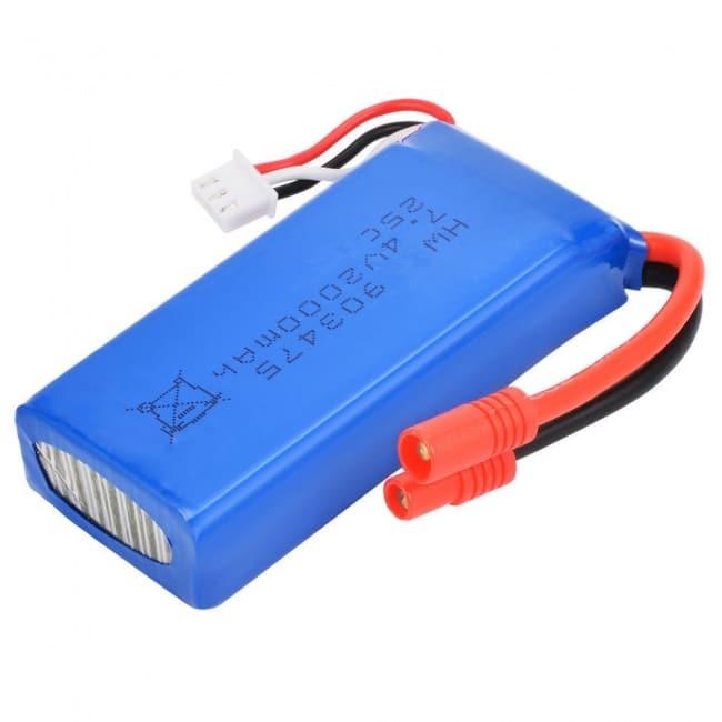 7.4v 2000mah батерия за дрон Syma X8G X8W X8HG X8HW
