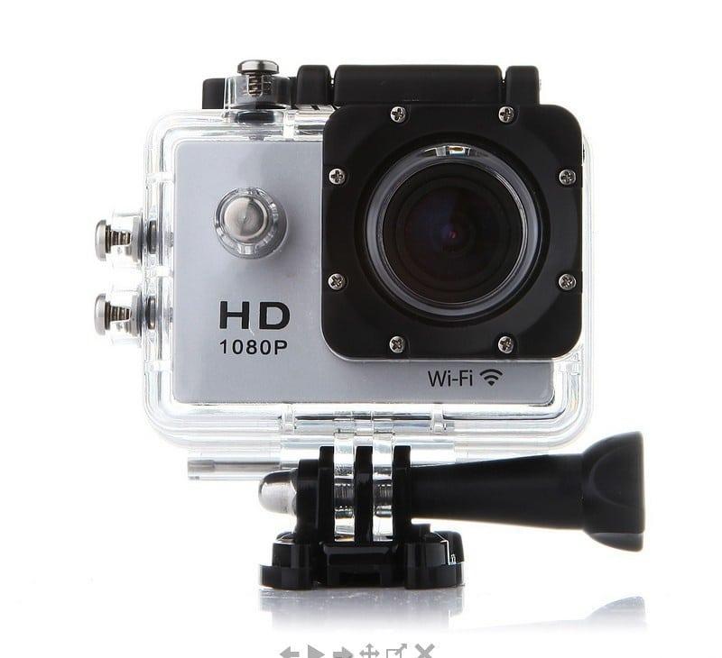 Екшън камера Full HD Wifi 12MP 1080P IP68