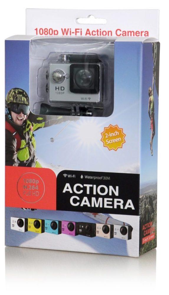 SmartZone.bg Екшън камера FullHD Wifi 12MP 1080P IP68