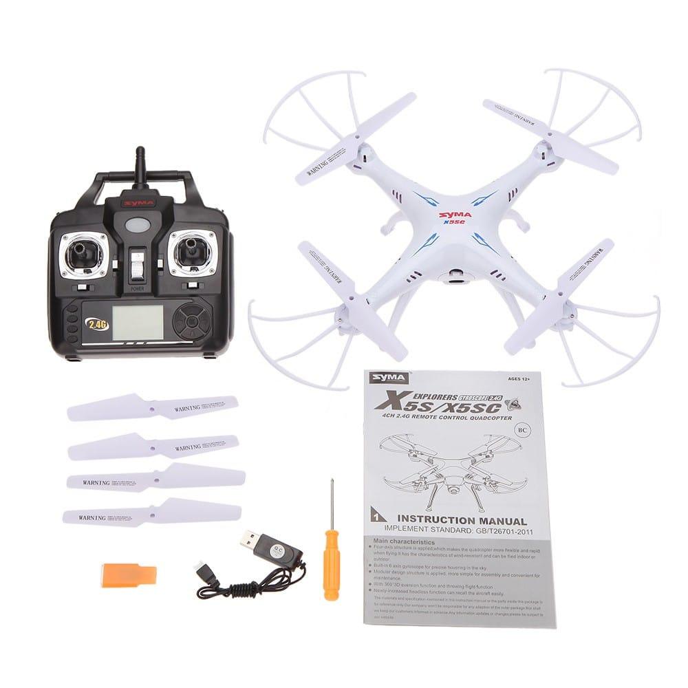 Drones.bg Дрон SYMA X5SC-1 (Подобрена версия)