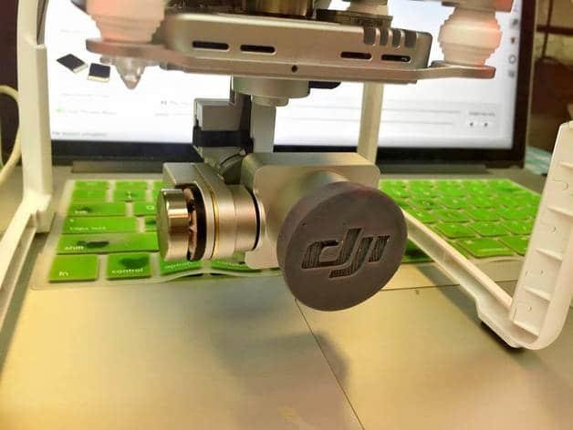 Капачка за обектива на дрон DJI Phantom 3 Pro/Adv