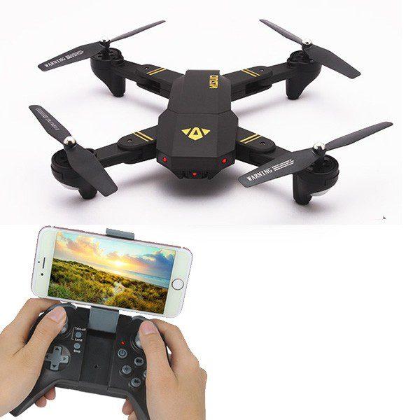 Drones.bg Дрон VISUO XS809HW 2MP камера