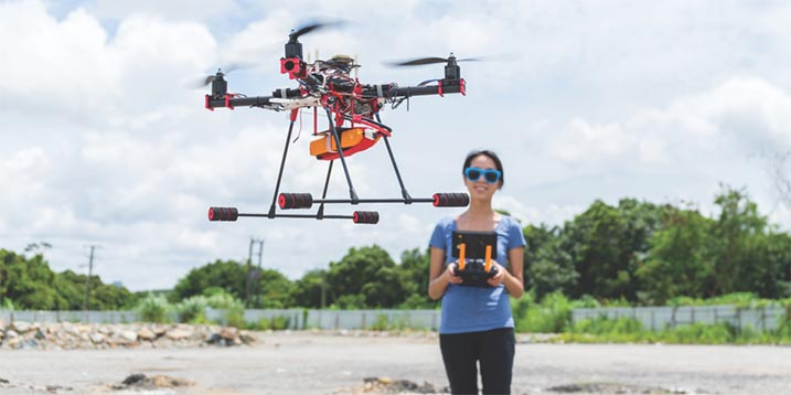 photo-blog-5-questions-to-ask-before-first-drone-flight-female-student-drone-1