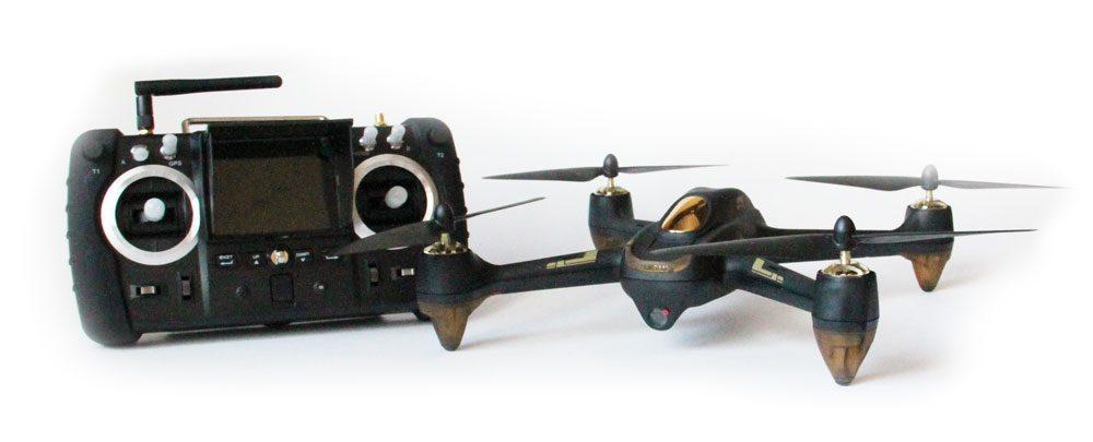 Дрон Hubsan X4 H501S Professional с професионално дистанционно