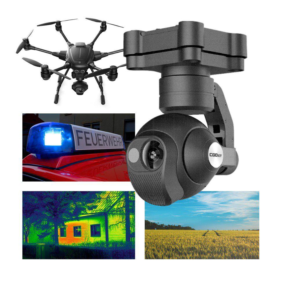Drones.bg Термокамера Yuneec CGO ET за дрон Yuneec Typhoon H520