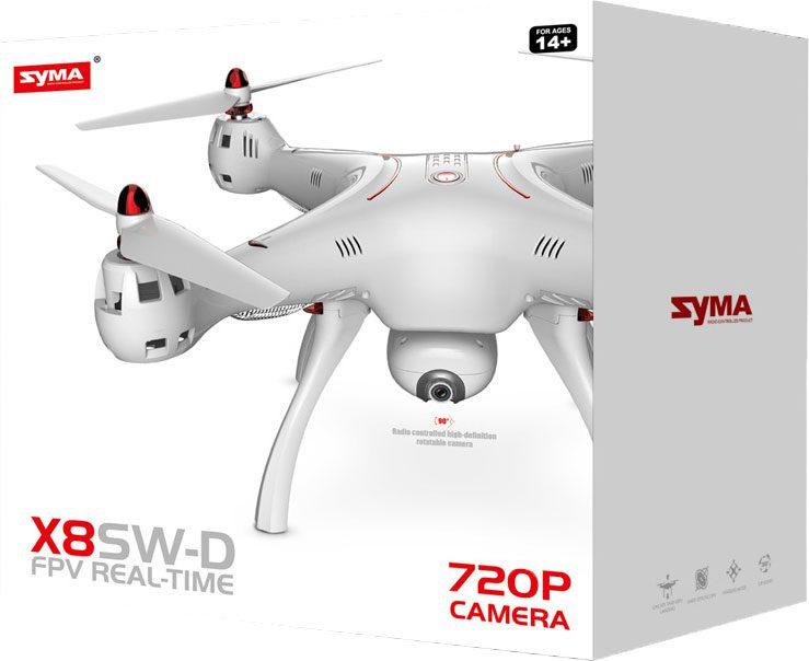 Дрон Syma X8SW-D с HD регулируема камера