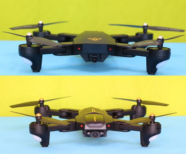 Drones.bg Ревю на дрон VISUO XS812 GPS