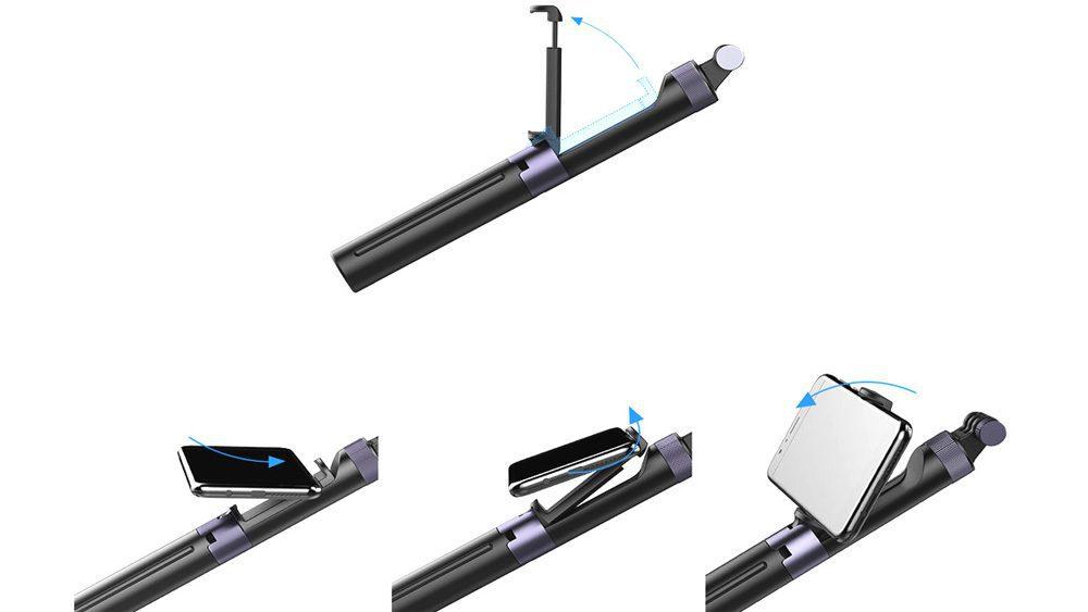 PGYTECH Ръкохватка и трипод за екшън камери