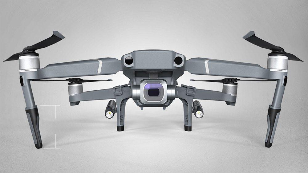PGYTECH Landing Gear удължители с LED прожектори за дрон DJI Mavic 2