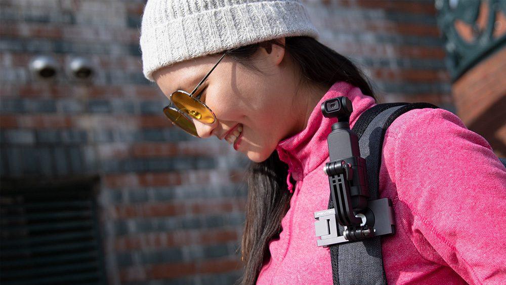 PGYTECH щипка за раница за екшън камери