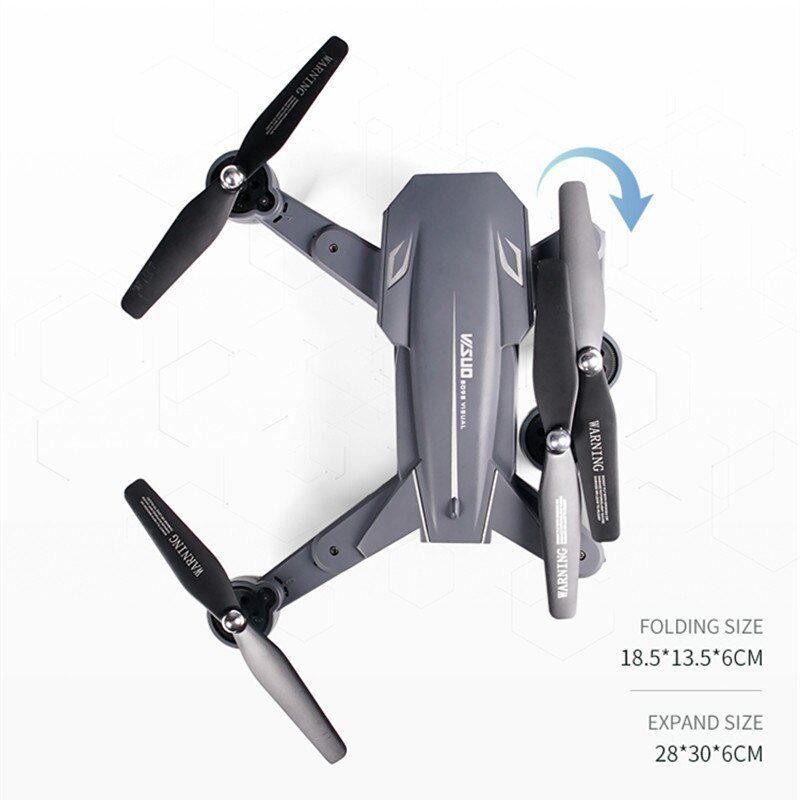 Дрон Visuo XS816 4K камера/опт. стабилизация/20мин. полет