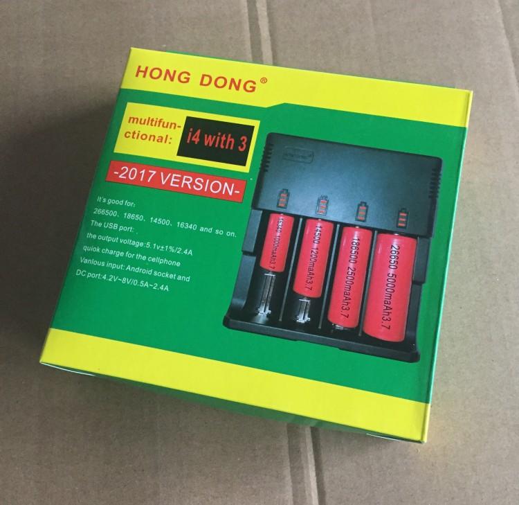 Зарядно за батерии 18650 с 4 слота
