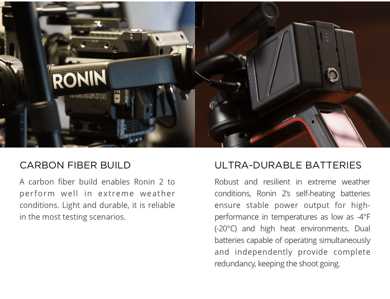 Професионална стабилизация DJI Ronin 2 Combo