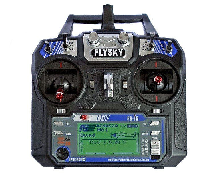Дистанционно + приемник FlySky FS-i6 + iA6B AFHDS 2A i-Bus PPM