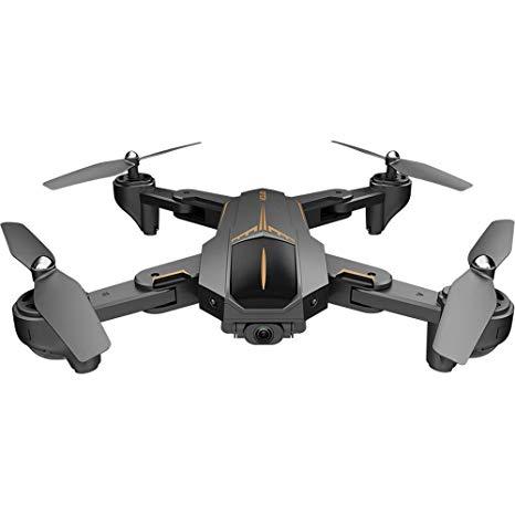 Drones.bg Дрон VISUO XS812 с GPS, 5MP камера и увеличено полетно време