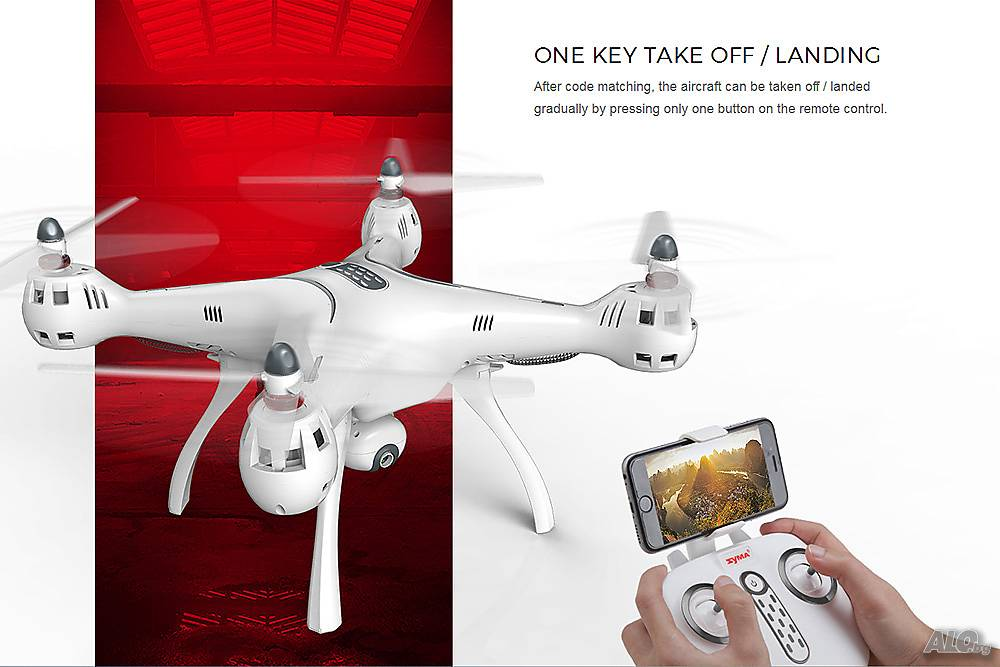 Дрон Syma X8PRO с GPS и камера - drones.bg магазин за дронове онлайн, сервиз, части и дрон форум
