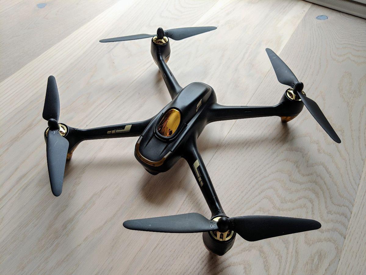 Drones.bg Дрон Hubsan H501S с GPS и безчеткови мотори