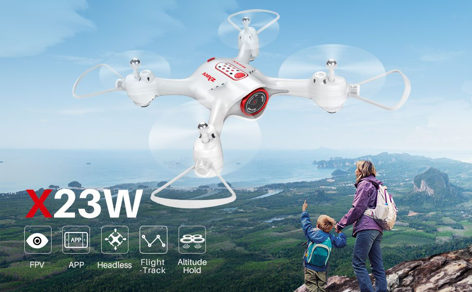 Drones.bg Дрон с камера SYMA X23W
