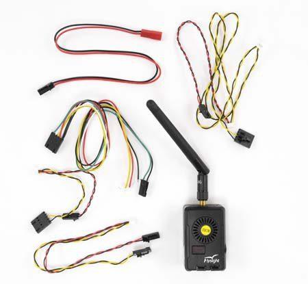 Drones.bg видео предавател за дрон FlightSight Black Mamba 2000mW