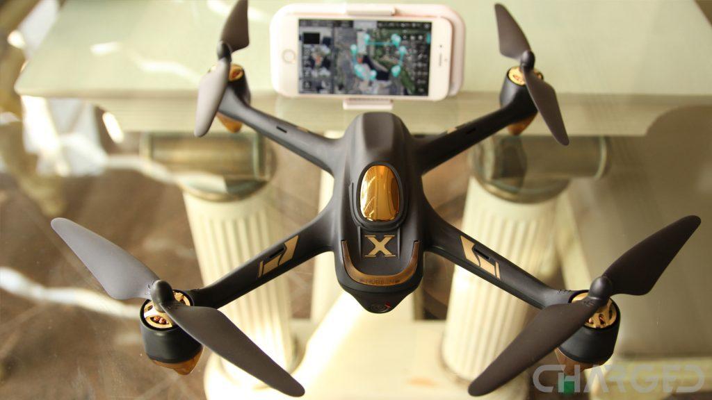 Drones.bg Дрон Hubsan X4 H501S с безчеткови мотори