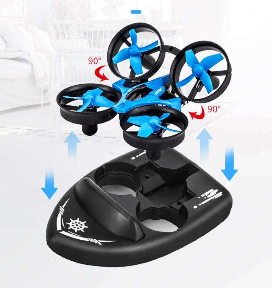 Drones.bg Дрон лодка JJRC H36F Terzetto + Допълнителна батерия
