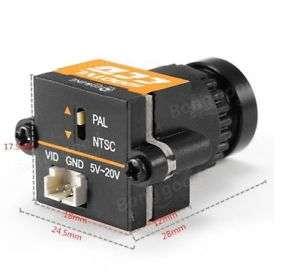 Drones.bg FPV Камера 1000TVL CCD PAL/NTSC 2.8mm Eachine
