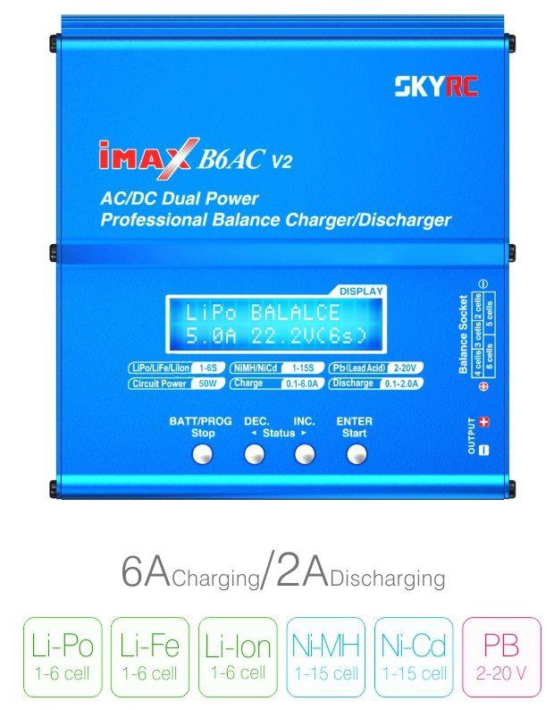 Зарядно устройство SkyRC iMax B6AC V2