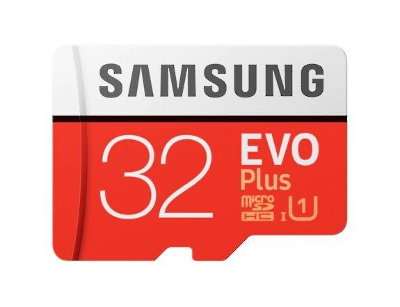 Drones.bg Карта памет Samsung EVO Plus microSD 32 GB