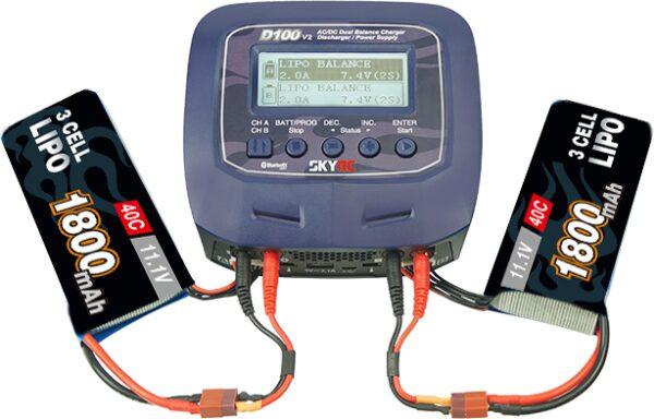 Зарядно устройство SkyRC D100 V2
