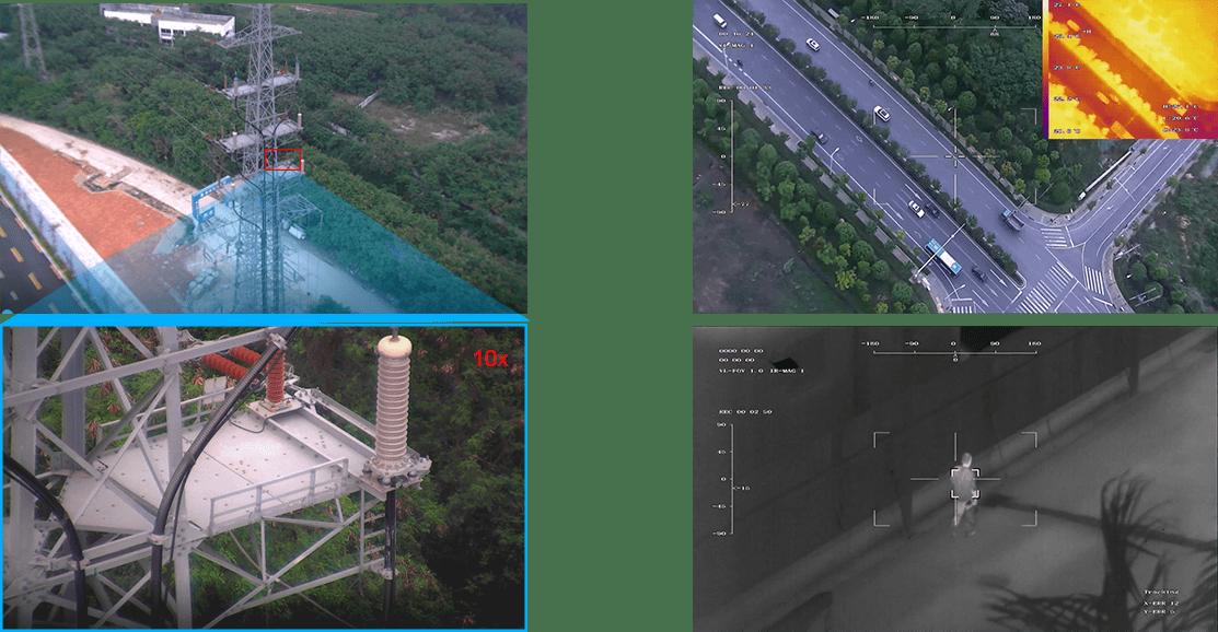 Инфрачервена камера с 10-кратно увеличение Viewpro Mini Z10TIR
