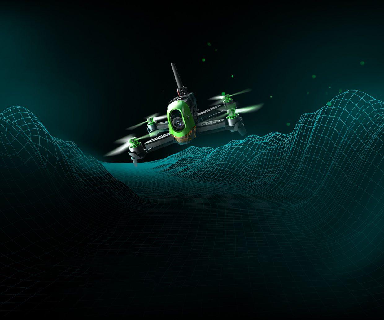 Drones.bg Рейсинг дрон Hubsan H123D X4 безчеткови мотори