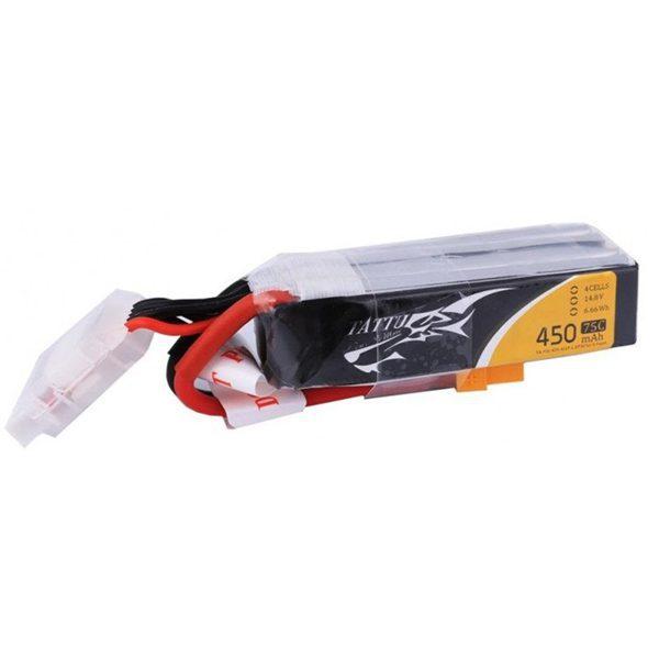 Батерия Tattu 450mAh 14.8V 75C 4S1P Дълга