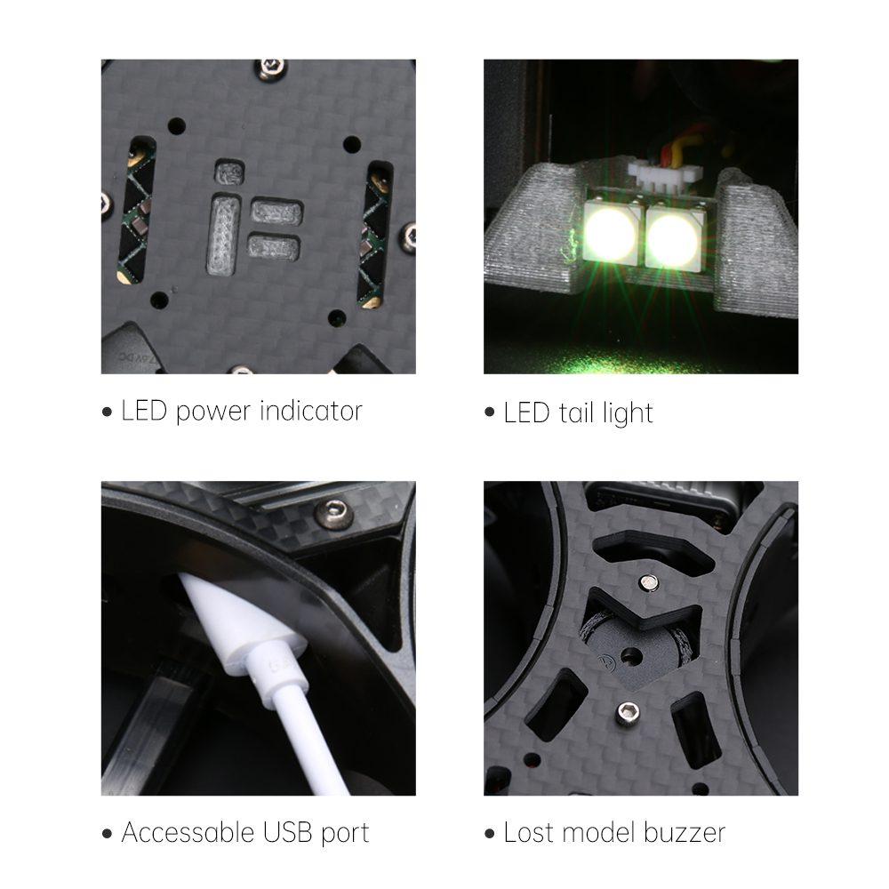 Drones.bg Рейсинг дрон ProTek25 HD - Caddx Vista Digital HD System
