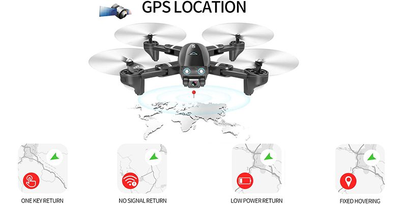 Drones.bg Дрон с Камера 5Mpx и GPS X48 Follow me в Куфарче