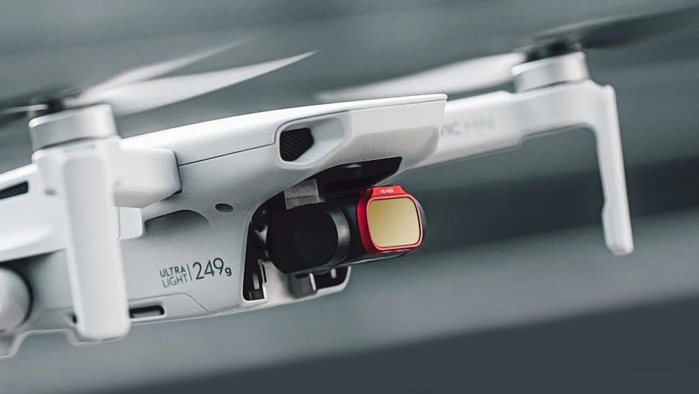 Drones.bg PGYTECH Комплект от ND8, ND16, ND32 и ND64 (Professional) филтри за Mavic Mini / Mini 2