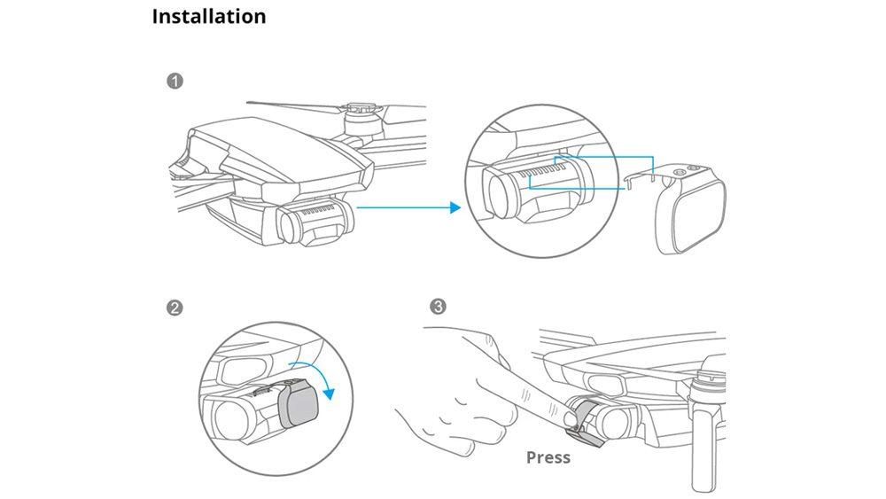 Drones.bg PGYTECH MRC-UV (Professional) филтър за Mavic Mini / Mini 2