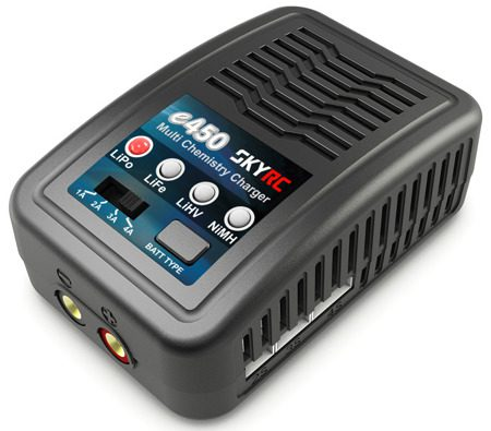 Зарядно SkyRC e450 2-4S / 6-8S LiPo / LiFe / LiHV / NiMH