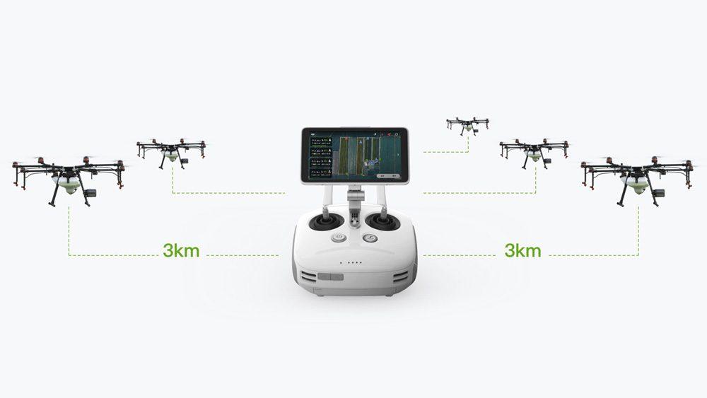 Drones.bg Селскостопански дрон DJI Agras MG-1P с 1 батерия и зарядно устройство