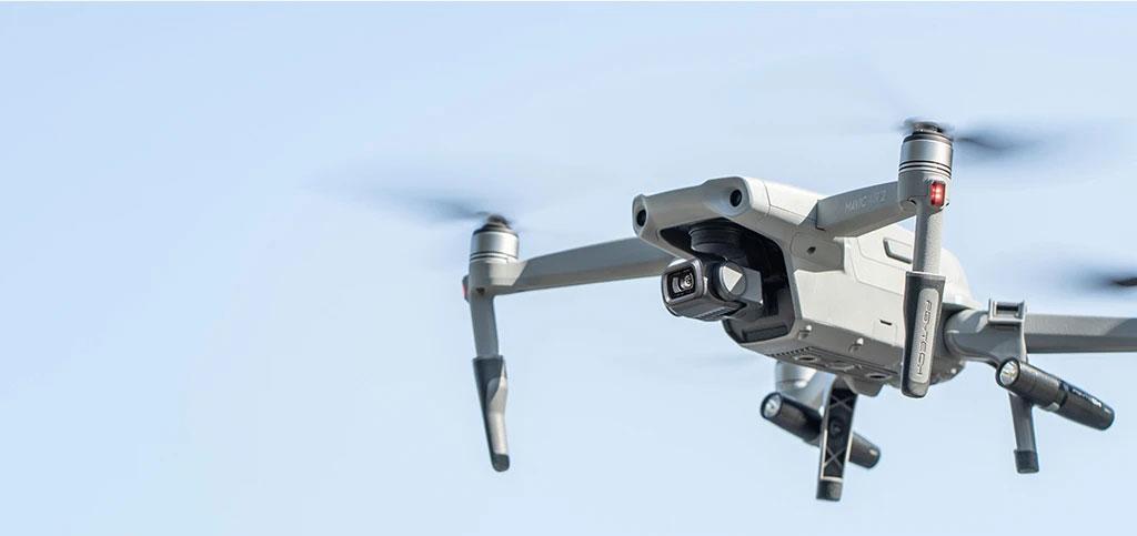 Drones.bg PGYTECH Landing Gear удължители с LED прожектори за дрон Mavic Air 2 / DJI Air 2S