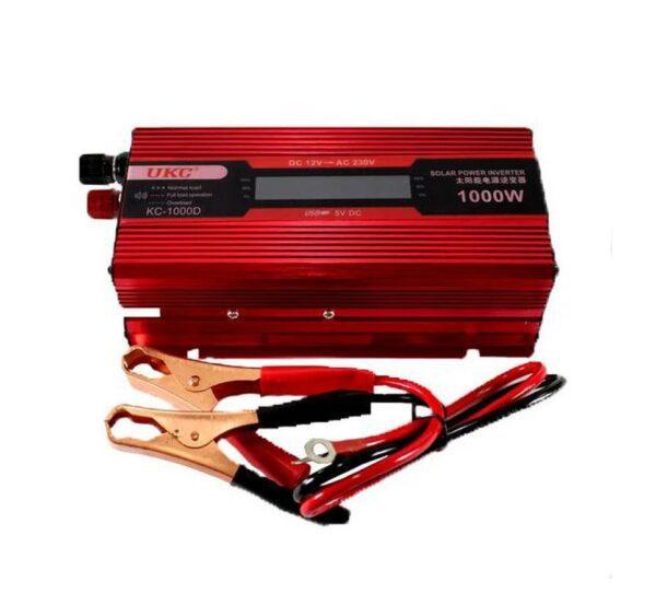 Инвертор с дисплей, 12-220V, 1000W