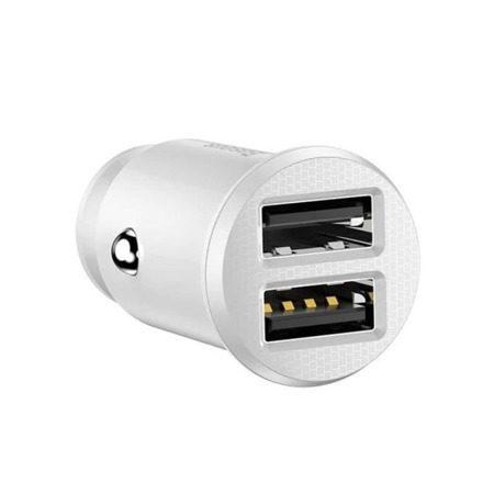 Зарядно за кола Baseus Grain 2x USB 5V 3.1A