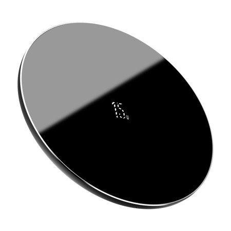Безжично зарядно устройство Baseus Simple, 15W (черен)