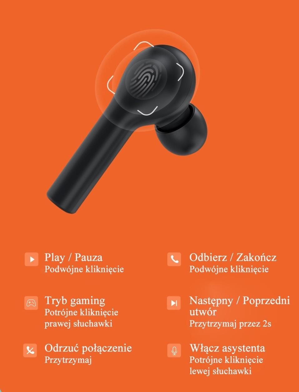 Безжични слушалки QCY T5, TWS Bluetooth 5.0