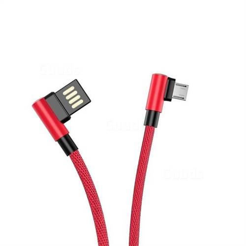 Micro USB кабел 90 градуса