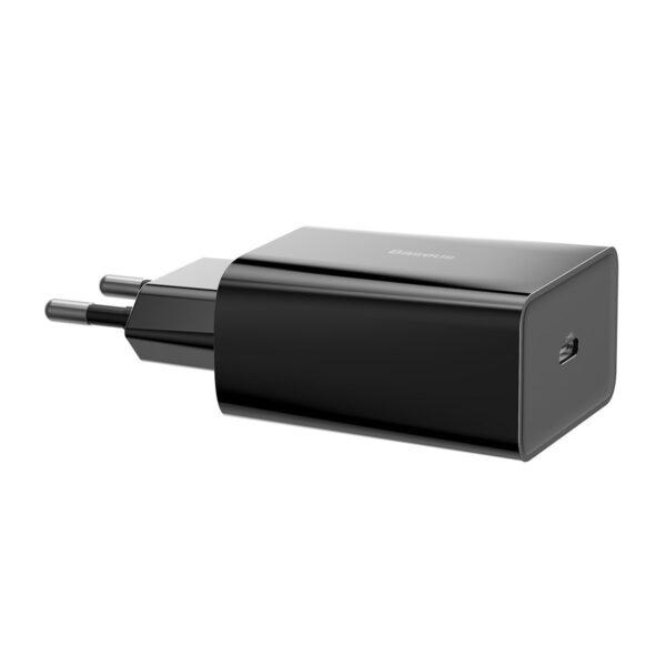 Адаптер / зарядно с USB Type-C Baseus