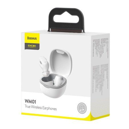Безжични слушалки Baseus Encok WM01, Bluetooth 5.0