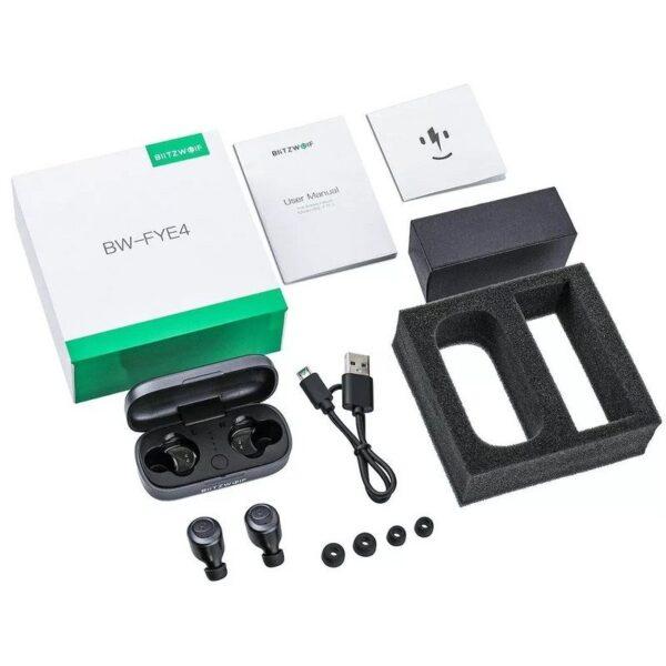 Drones.bg Безжични слушалки Blitzwolf BW-FYE4 (Bluetooth 5.0)