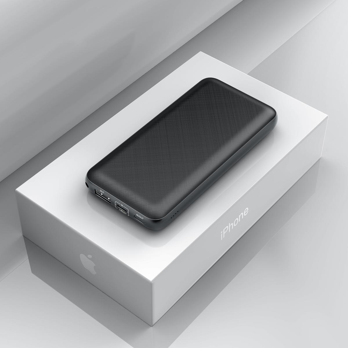 Външна батерия Baseus Mini Q 20000mAh USB 3A