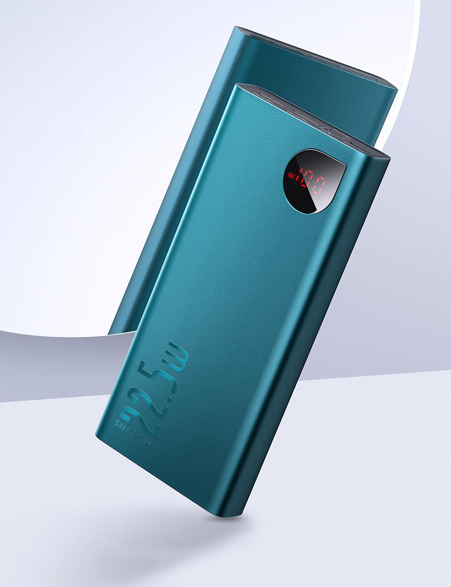 Преносима батерия Baseus Adaman 22.5W 20000mAh